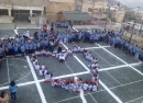المدرسة الابتدائية التجريبية سلطان الاطرش في حرفيش تفتتح العام الدراسي 2015 – 2014