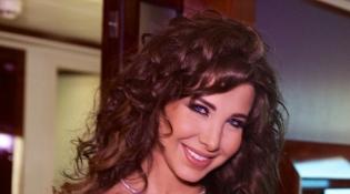 بالصور: نانسي عجرم زاهرة بالأحمر